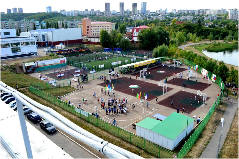 Спортивная площадка СШ №32